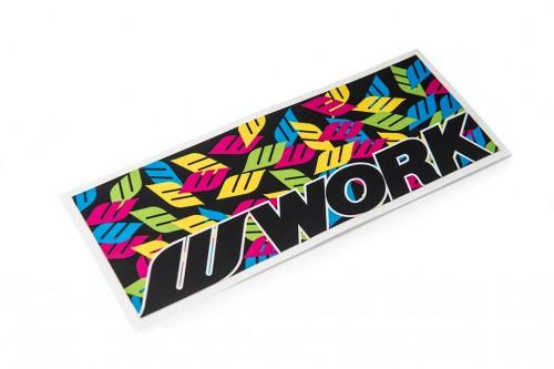 WORK Multi-Cam Sticker (W140003)