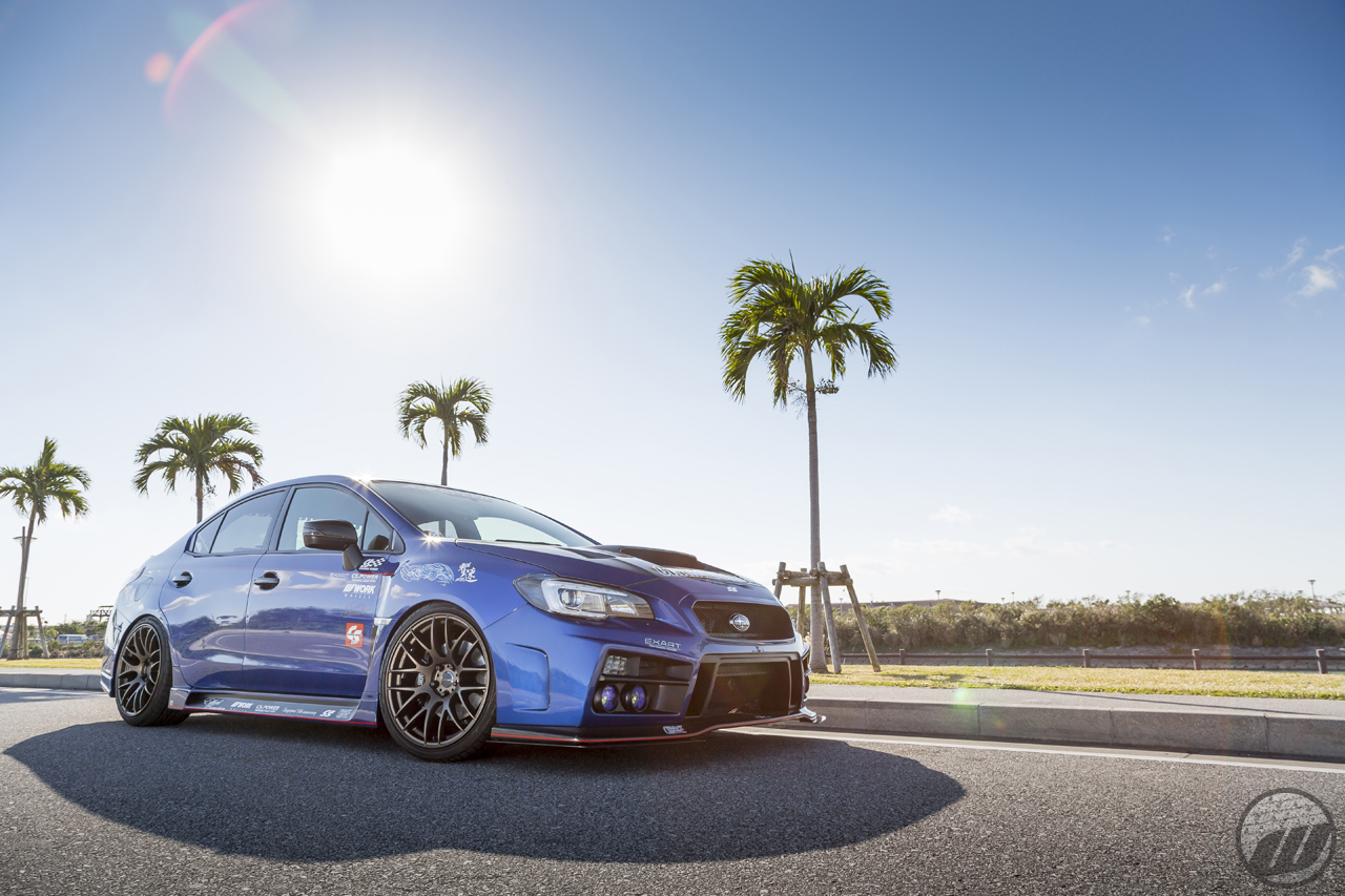 Subaru Dealers Near Me >> CHARGESPEED Subaru STI on WORK Emotion M8R in Matte Bronze ...
