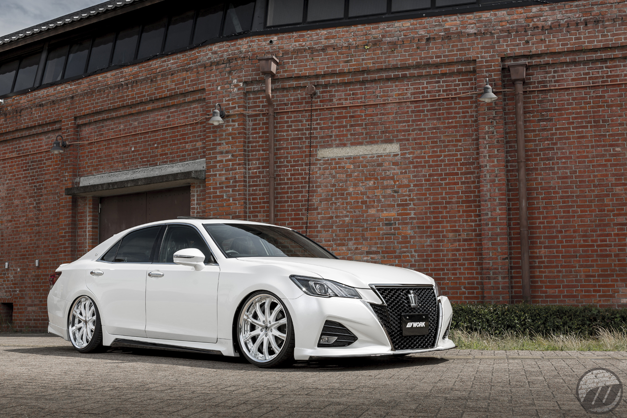 Toyota Dealers Near Me >> Car Relax Toyota Crown on WORK Schwert SC4 (20″) in White Polish (WP) – Photo by WORK Wheels ...