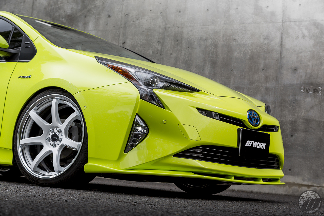Toyota Dealer Near Me >> SOUND CONNECTION Toyota Prius on WORK Emotion CR2P in Bronze (AHG) / T7R2P in White (WHT ...