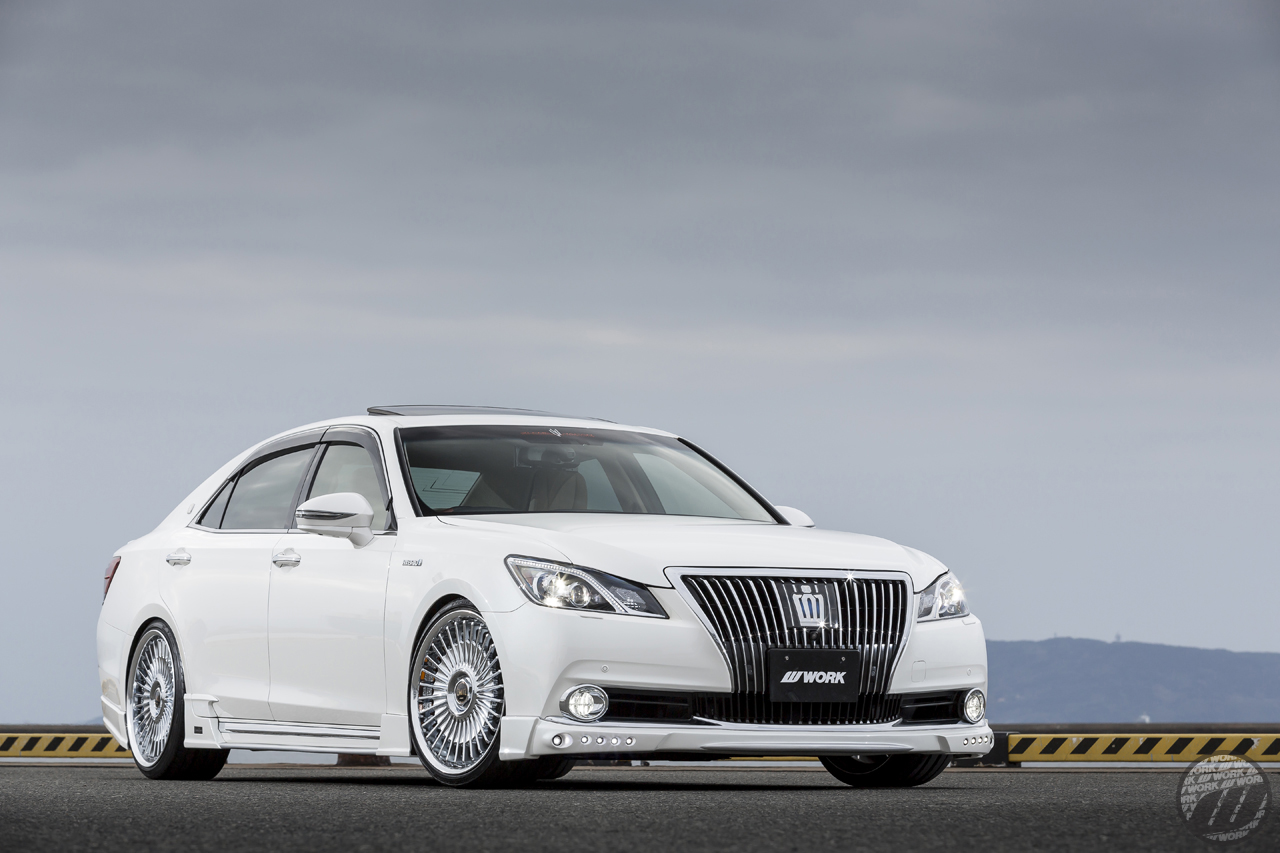 Toyota Dealers Near Me >> MJK CUSTOMS Lexus LS460 on WORK Emitz in Chrome (C) Finish ...